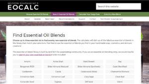 Essential Oil Calculator Updates (September 2017)